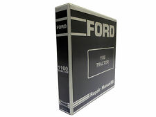 Ford 1100 Tractor Factory Service Manual Repair Shop Book NEW with Binder