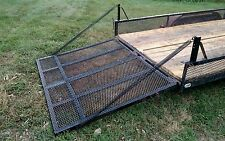 CRAZY BOY Utility landscape Trailer Gate Tailgate Lift Assist Ramp VIDEO ADDED
