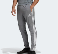 Adidas Tiro 19 Pants Mens Authentic Soccer Training Slim Fit Gray XL to 3XL