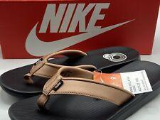 Nike Bella Kai Women's Size 9 Black Bronze Sandals Flip Flops Thongs AO3622 900