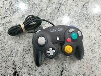 Official OEM Nintendo GameCube Controller Original (Black) DOL-003 Tested
