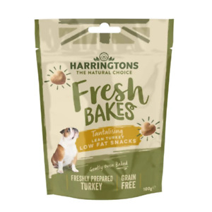 Harringtons Grain Free Low Fat Lean Turkey Dog Treats 100g