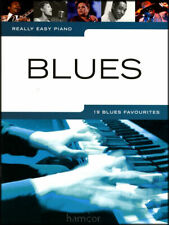 Really Easy Piano Blues 19 Favourites Music Songbook