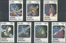 Timbres Cosmos Guinée Bissau 187/93 o lot 12002