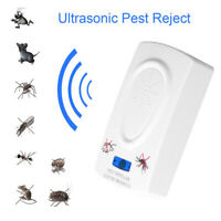 Ultrasound Mouse Cockroach Repeller Device Insect Mosquito Killer Pest Rejec YK