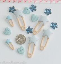 Novelty Buttons Embellishments Scrapbook Petals & Pins # 275