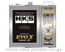 HKS 4 LITES ENGINE OIL 3.5W 37 FOR MITSUBISHI EVO X 4B11 CZ4A
