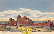 A75/ Wilkes-Barre Pennsylvania Pa Postcard 1958 Linen Stegmaier Brewery Company