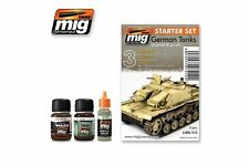 AMMO OF MIG A.MIG-7412 Weathering German Tanks -Starter Set (3p)