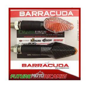BARRACUDA Indicators Homologated Mini Viper Carbon Look Long Aprilia Tuono V4