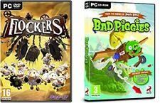 flockers & bad piggies  new&sealed