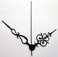 Jeu d'aiguilles classiques pour mécanisme d'horloge pendule à quartz