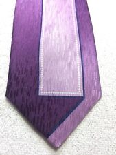 IRVINE PARK MENS PURPLE AND PINK WITH BLACK AND WHITE 3.75 X 60