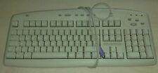 Tastiera Logitech Y-SE8 PS/2 Connector 104-keys Internet Keyboard White Bianca