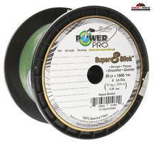 Power Pro Braid Fishing Line Power Pro Braid Fishing Line 30lbs 1500yds Green ~