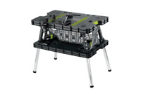 Ryobi Folding Table with Two Clamps