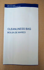 "50 MOTION/VOMIT/BARF/AIR SICKNESS BAGS **** NO TAPE SEAL SPECIAL****  8.5""x5.25"""
