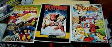 3 Alan Davis GN Excalibur Mojo Mayhem Chris Claremont  X-men Wolverine Bloodlust