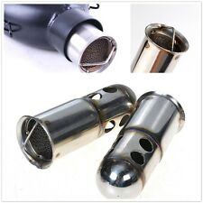 1x Universal Motorcycle Silencer Muffler Baffle for 51mm Exhaust Stainless Steel