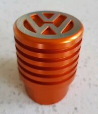 VW T5 T6 Gear Shift Knob Aluminium Ribbed Orange