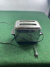 Vintage 1950s Proctor Chrome Automatic Pop-up Toaster Model #1490 rare