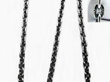 ".925 STERLING SLVER NECKLACE CLASSIC CHAIN 5 MM.  SZ 22"" TNM MEDEEFLYART"