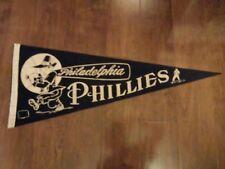 vintage 1950's philadelphia phillies pennant