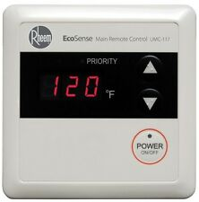 Rheem Branded Tankless Gas Water Heaters Residential Wired Main Remote Control