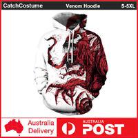 Marvel Venom Hoodie 3D Print Sweater Sweatshirt Pullover Casual Jacket Coat