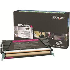 Cartucho de tóner Original Lexmark C734A1MG color magenta