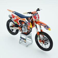 Cooper Webb Red Bull KTM 450 SX-F 1:12 Motocross Mx Toy Model Bike New Ray 2019