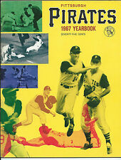Pgh Pirates, 1967 Yearbook, Clean