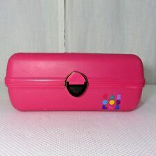 Vintage Caboodles Make Up Travel Case Craft Organizer Hot Pink Trays Model 2602