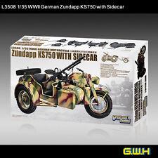 Great Wall Hobby L3508 1/35 Zundapp KS750 with Sidecar