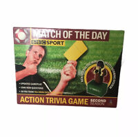 BBC Sport Match Of The Day Action Trivia Game Second Season Complete