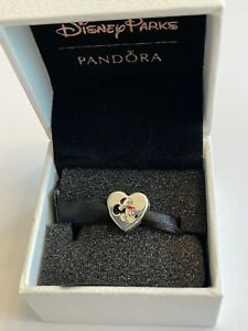 Disney Cruise Line Captain Minnie Mouse Pandora Charm Double Sided DCL Exclusive