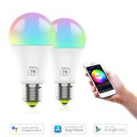 E27 /B22 Wifi Smart LED Light Bulb Amazon Alexa/Google Home App Control Blubs AU