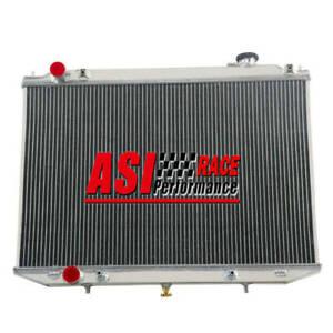 Aluminum Radiator For Nissan Navara D22 2.5L YD25 Turbo Diesel 2007-ON AT/MT