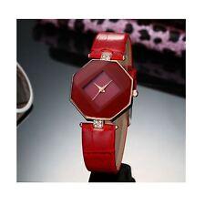 Smart Diamond Shape Watch Red Jewel Present Gift Birthday Quality UK Warranty
