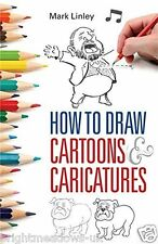 How to Draw Cartoons Charicatures Drawing Art Book Guide Artist Learn Creative