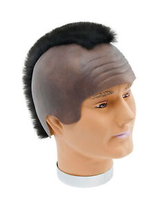 Men's MR Bling Headpiece With Mohican Fancy Dress Accessory MR T Wig Hair Style