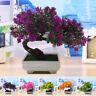 1x Artificial Small Bonsai Decor Vase Flower Plant Home Wedding Party Decoration