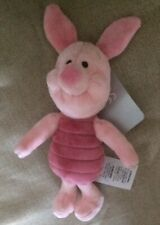 "DISNEYSTORE AUTHENIC - PIGLET PLUSH TOY - SML BNWT 9""H"
