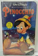 PINOCCHIO (VHS 1993) WALT DISNEY CLASSIC NEW SEALED