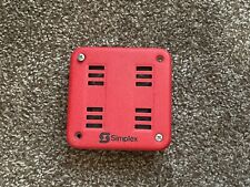Simplex 2901-9838 Fire Alarm Remote Horn Wall Red