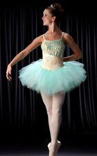 Vignette Dance Costume Mint Lace Ballet Tutu Ballerina Clearance Child X-Small