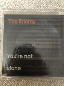 """The Enemy - Your Not Alone 7"""" Vinyl Square Vinyl (Mint) 2007 Warner Brothers"""