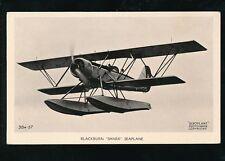 Aircraft Air Force Military RAF BLACKBURN SHARK Seaplane RP PPC