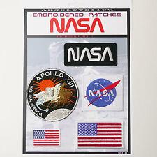 NASA APOLLO Astronaut Patches - Iron-On Patch Mega Set #44 - FREE POST