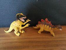 AAA Plastic Dinosaur Bundle Stegosaurus And Utahraptor